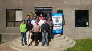 Miembros de la ACHS, prevencionistas de riesgo de Egesa y comites paritarios, Egesa planta de Codelco y casa matriz.