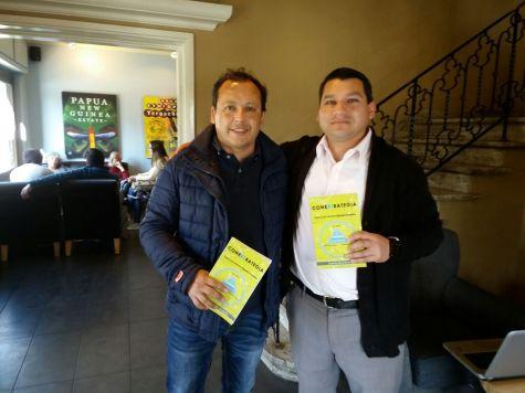 """Compartiendo el libro """"Conextrategia"""" junto a Marcelo Guital"""