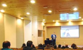 """Charla """"El nuevo escenario, en la era de la transformación digital"""" Pontificia Universidad Católica de Valparaíso."""