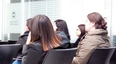 Charla del uso de Redes Sociales para negocios y empresas, a alumnos de Advance UNAB, Viña del Mar, Chile.