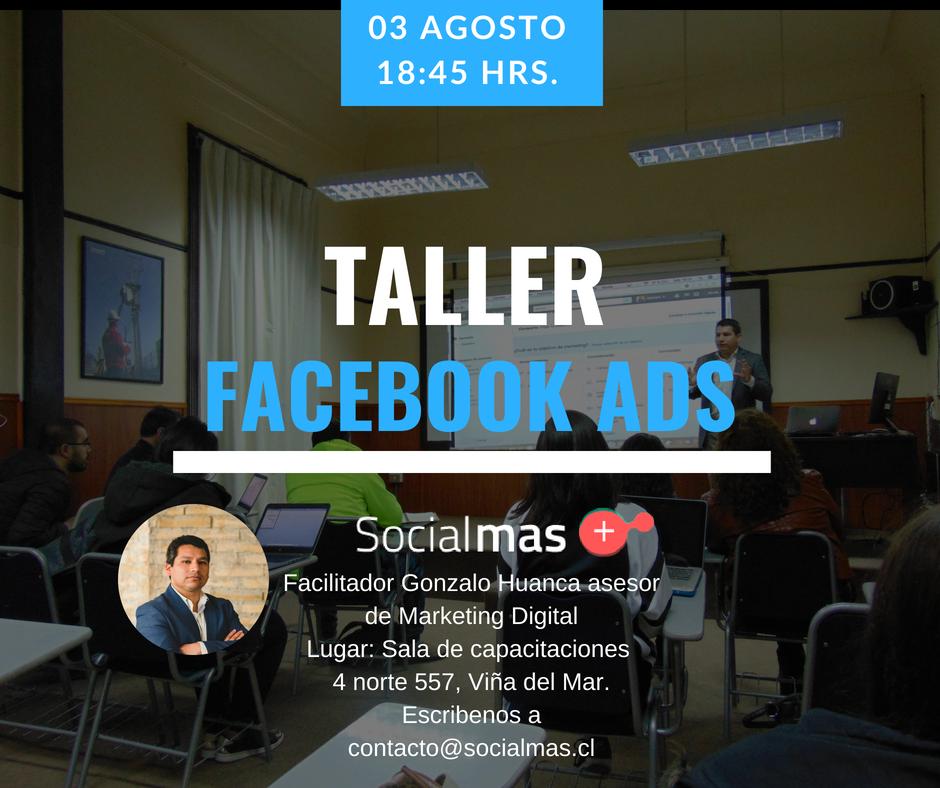 Taller de Facebook Ads, Gonzalo Huanca.